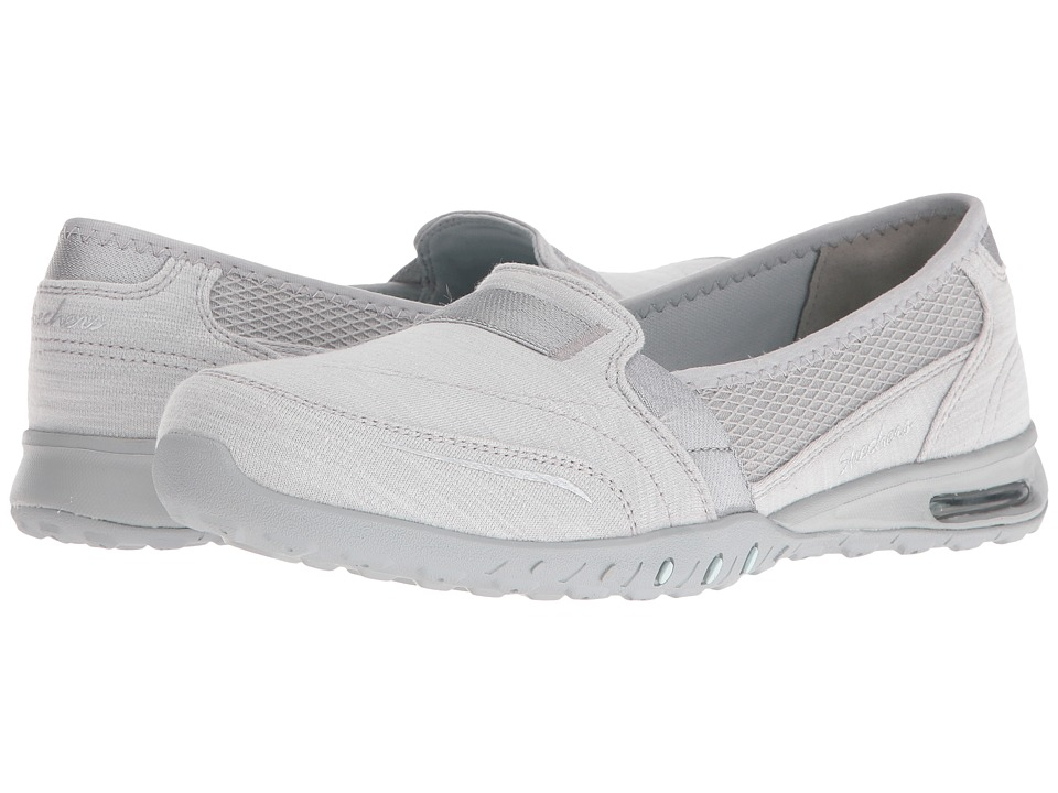 SKECHERS - Easy-Air - Gold Mine (Gray) Women's Flat Shoes