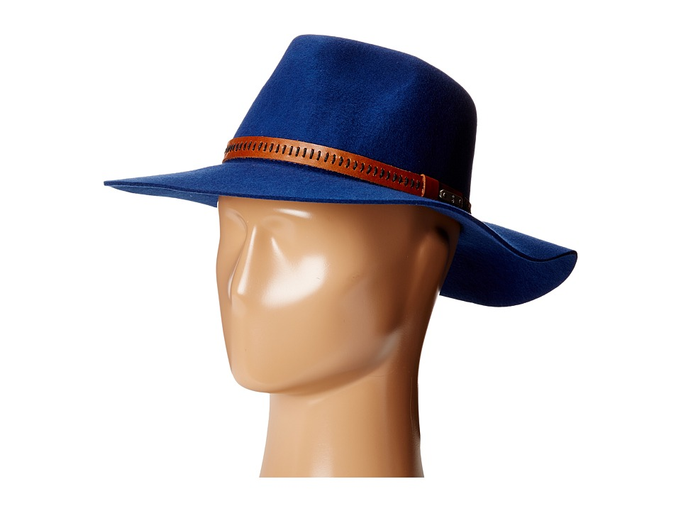 San Diego Hat Company - WFH8028 Tear Drop Crown Floppy Hat (Royal Blue) Caps