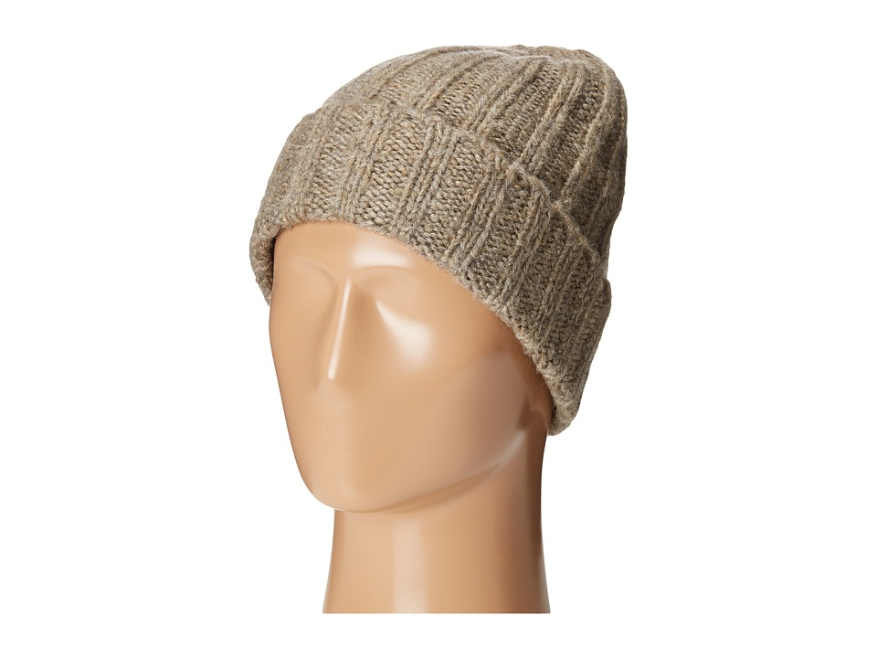 San Diego Hat Company - KNH3426 Solid Cuffed Ribbed Knit Beanie (Mix Grey) Beanies
