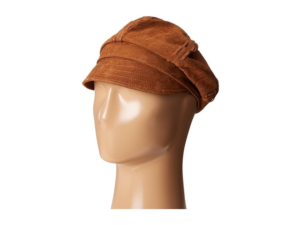 San Diego Hat Company - CTH8039 Newsboy Cap (Tobacco) Caps