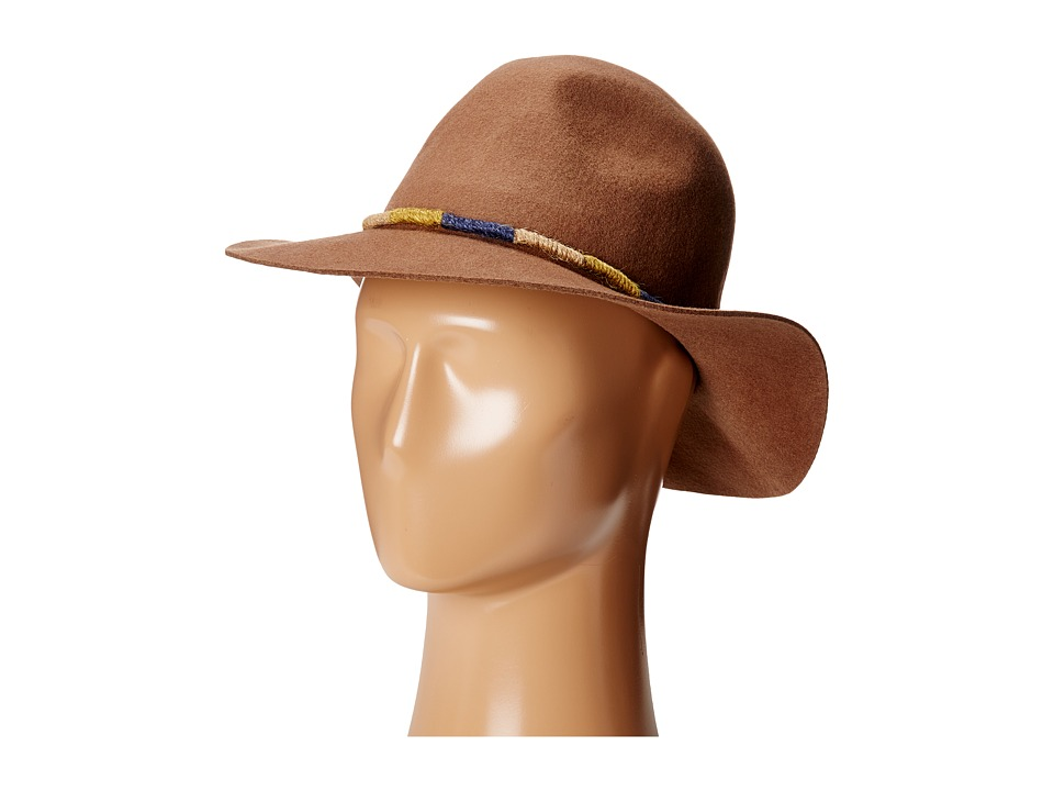 San Diego Hat Company - WFH8030 Floppy Hat with Wrapped Twine Trim (Camel) Caps