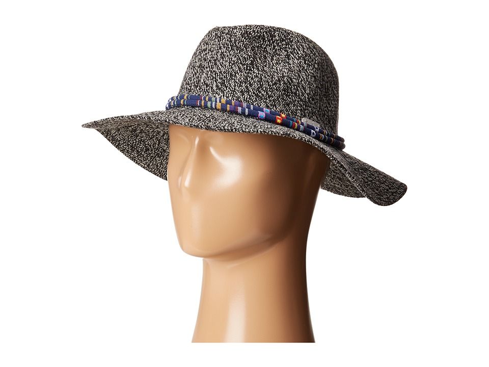 San Diego Hat Company - KNH3396 Knitted Panama Fedora Hat (Grey) Fedora Hats