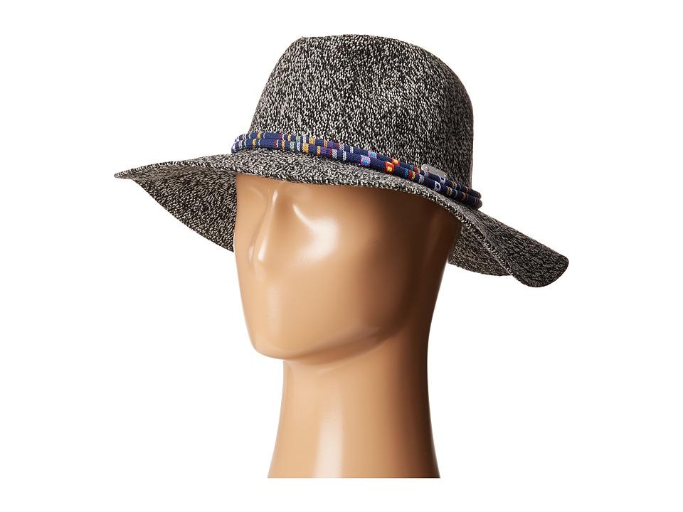 San Diego Hat Company - KNH3396 Knitted Panama Fedora Hat (Grey) Fedora Hats