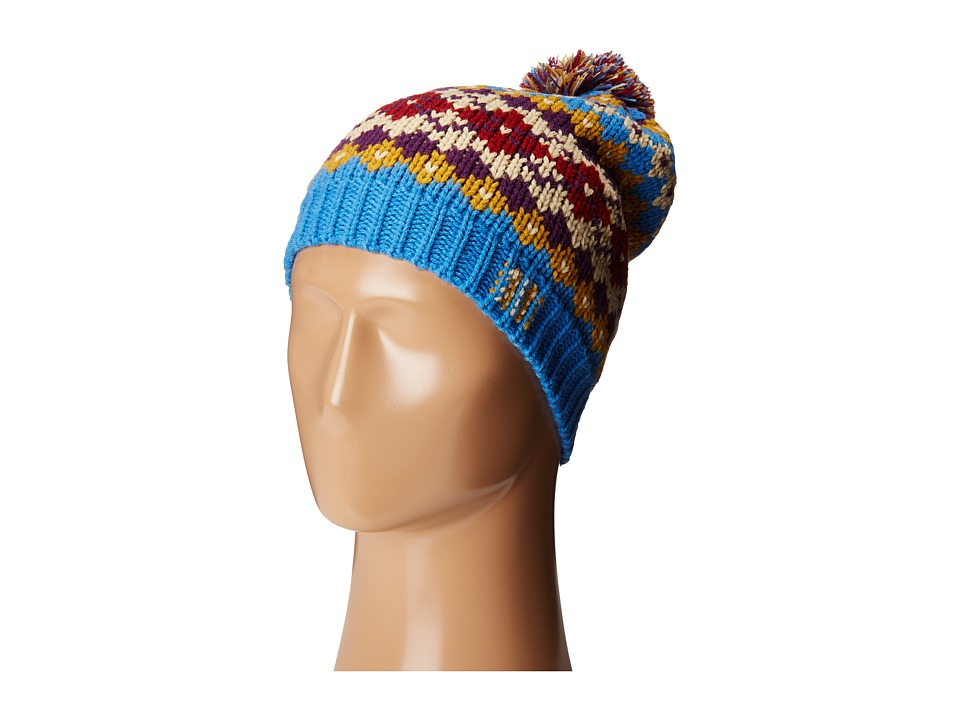 San Diego Hat Company - KNH3414 Intarsia Knit Beanie (Multi) Beanies