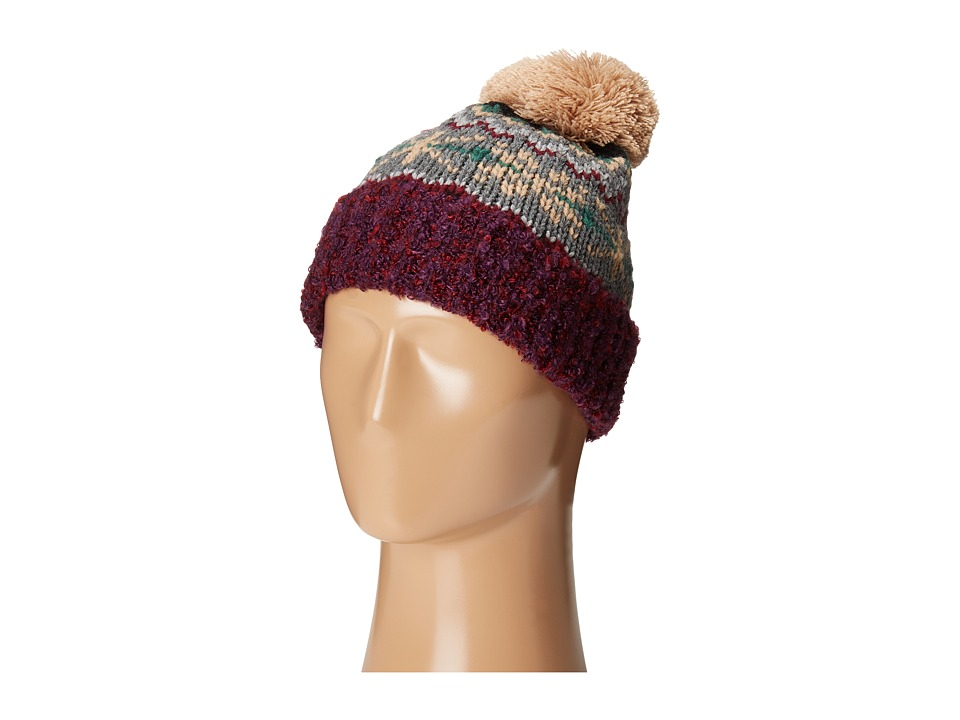 San Diego Hat Company - KNH3415 Intarsia Knit Beanie (Multi) Beanies
