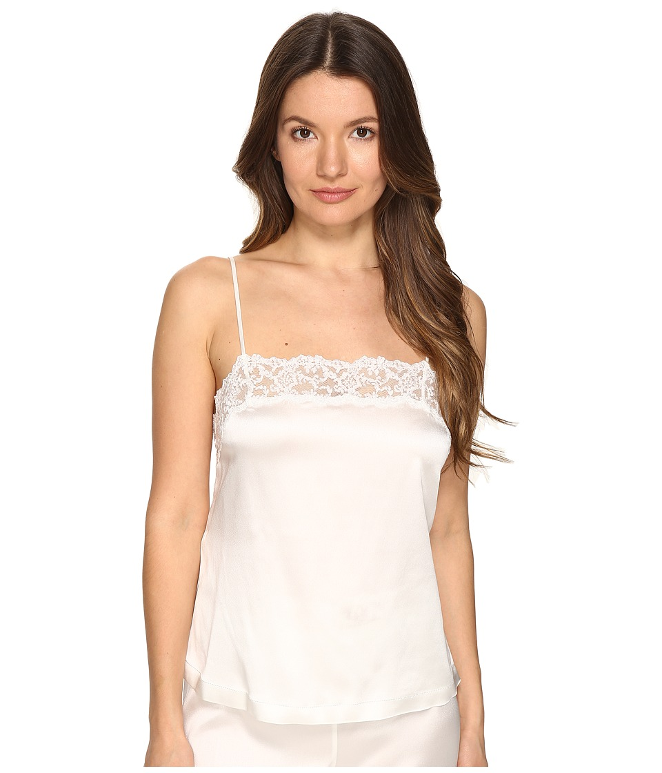 La Perla - Floral Vibes Top (White Milk) Women's Pajama
