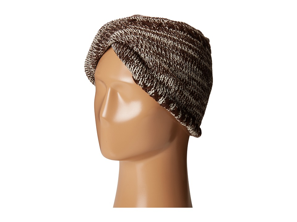 San Diego Hat Company - KNH3441 Oversize Twist Knit Headband (Brown) Headband