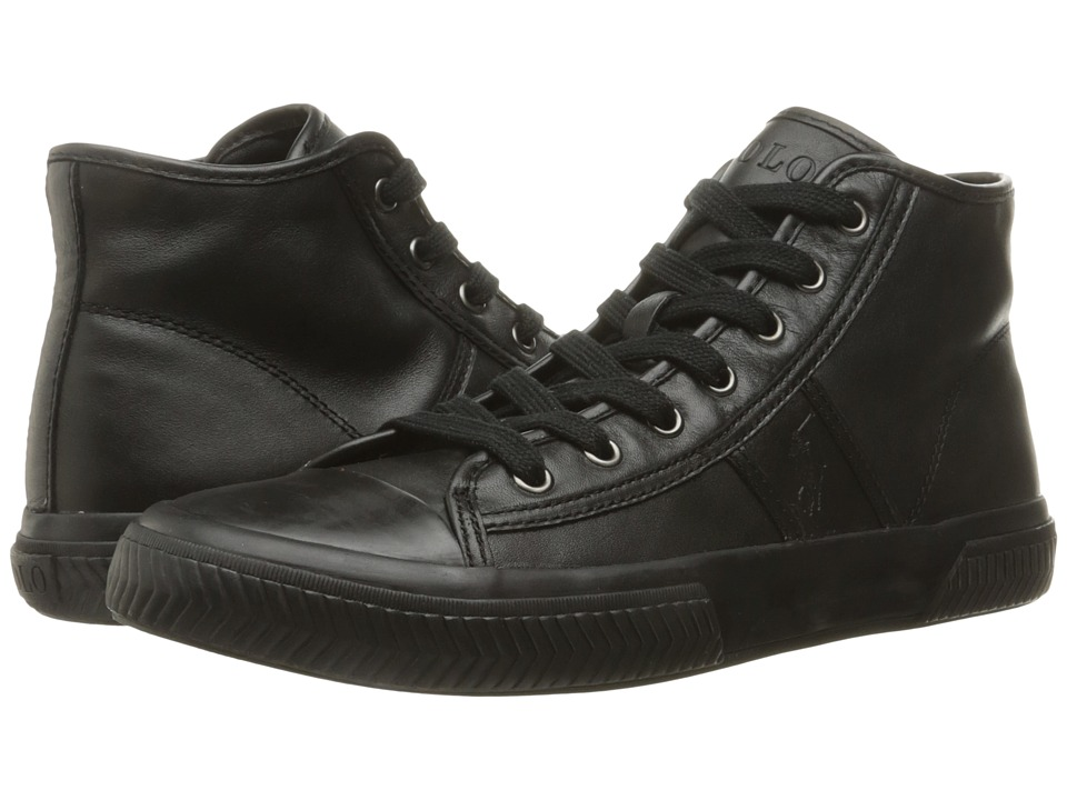 Polo Ralph Lauren - Tremayne (Black) Men's Shoes
