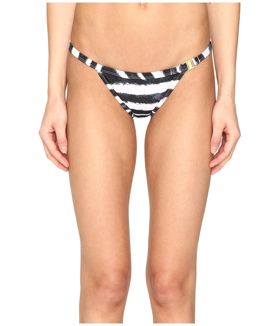 L'Agent by Agent Provocateur - Tayler Bikini Bottom (Zebra) Women's Swimwear