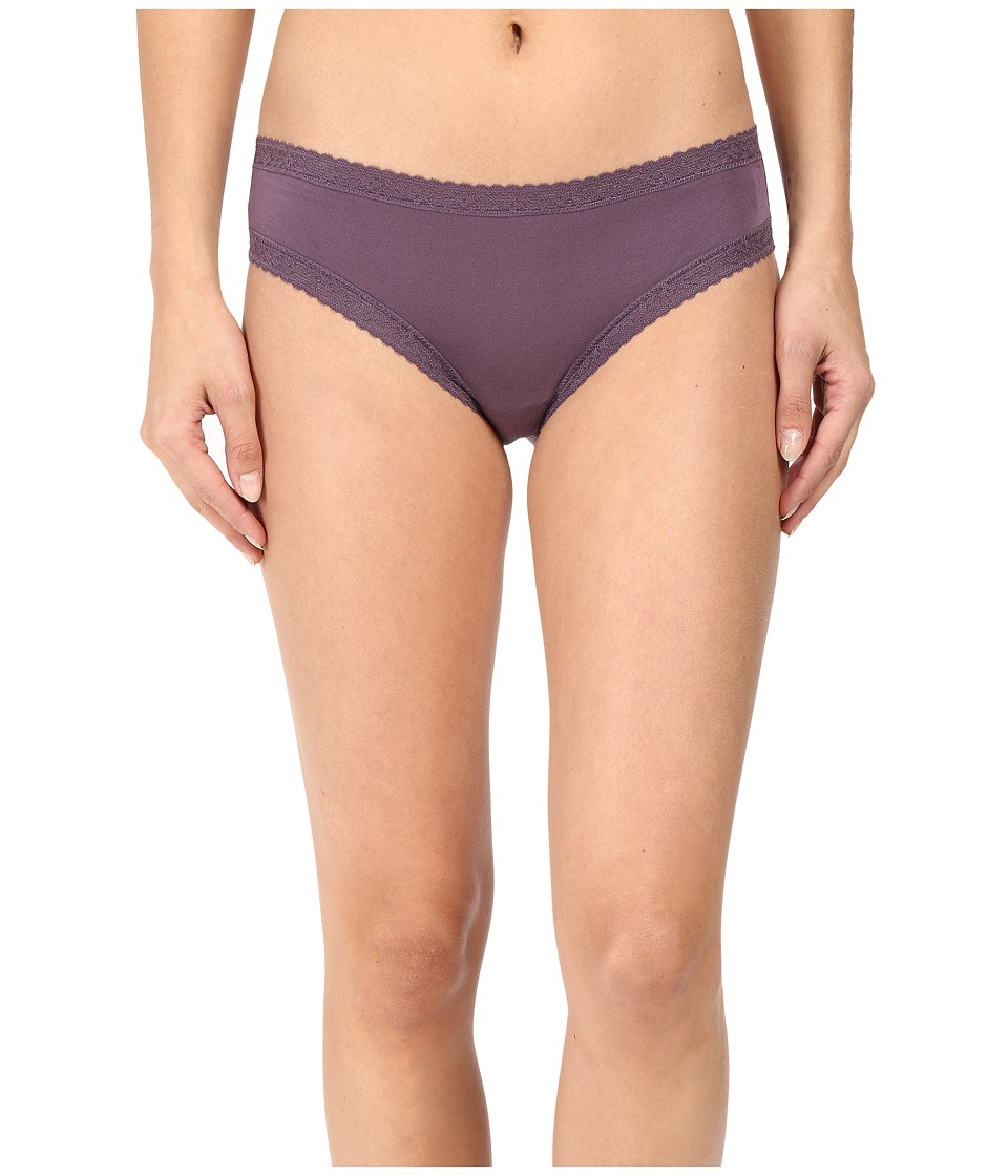 Yummie by Heather Thomson - Marnie Micro Modal Comfort Lace Hipster (Vintage Violet) Women's Underwear