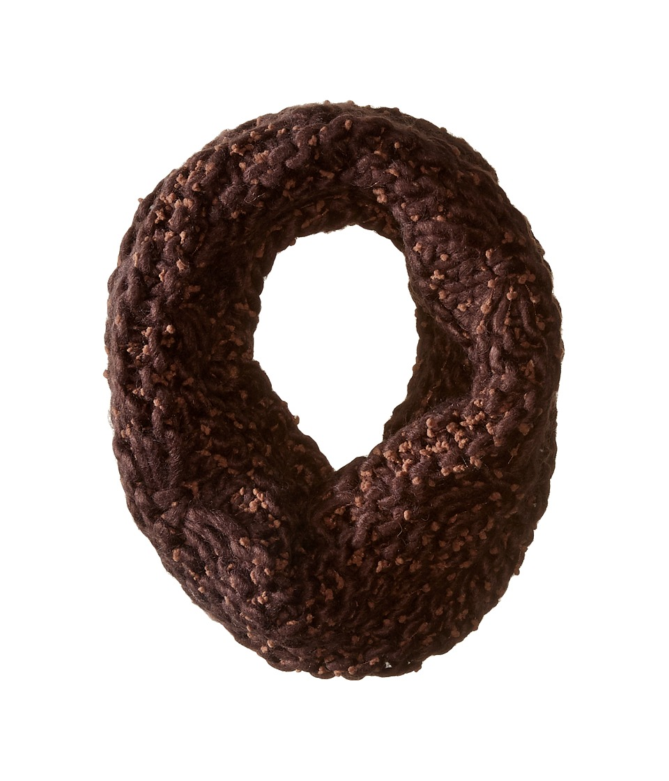San Diego Hat Company - BSS1681 Chunky Yarn Crochet Knit Scarf (Brown) Scarves