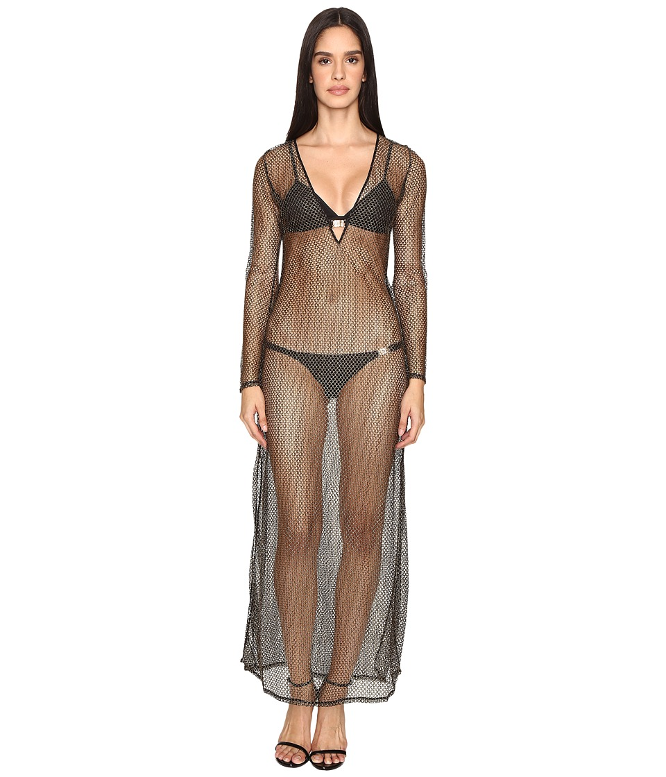 L'Agent by Agent Provocateur - Kristen Long Tunic (Gold) Women's Swimwear