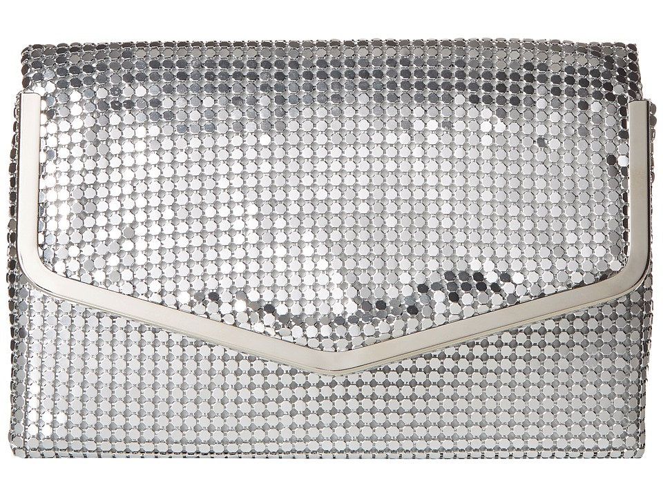 Jessica McClintock - Stephanie (Silver) Handbags
