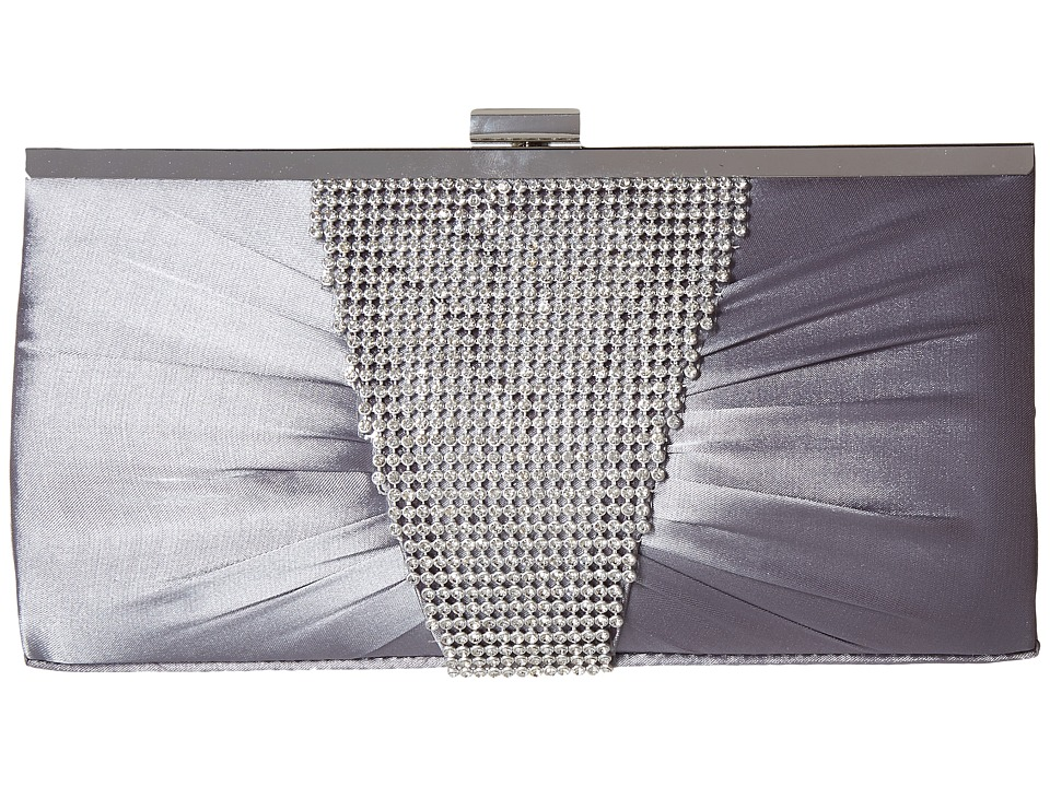 Jessica McClintock - Laura Clutch (Pewter) Clutch Handbags