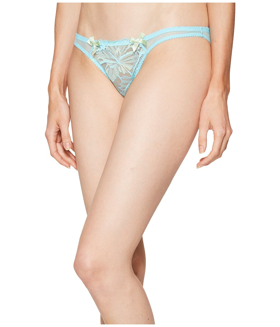 L'Agent by Agent Provocateur - Macie Mini Brief (Turquoise/Blue) Women's Underwear