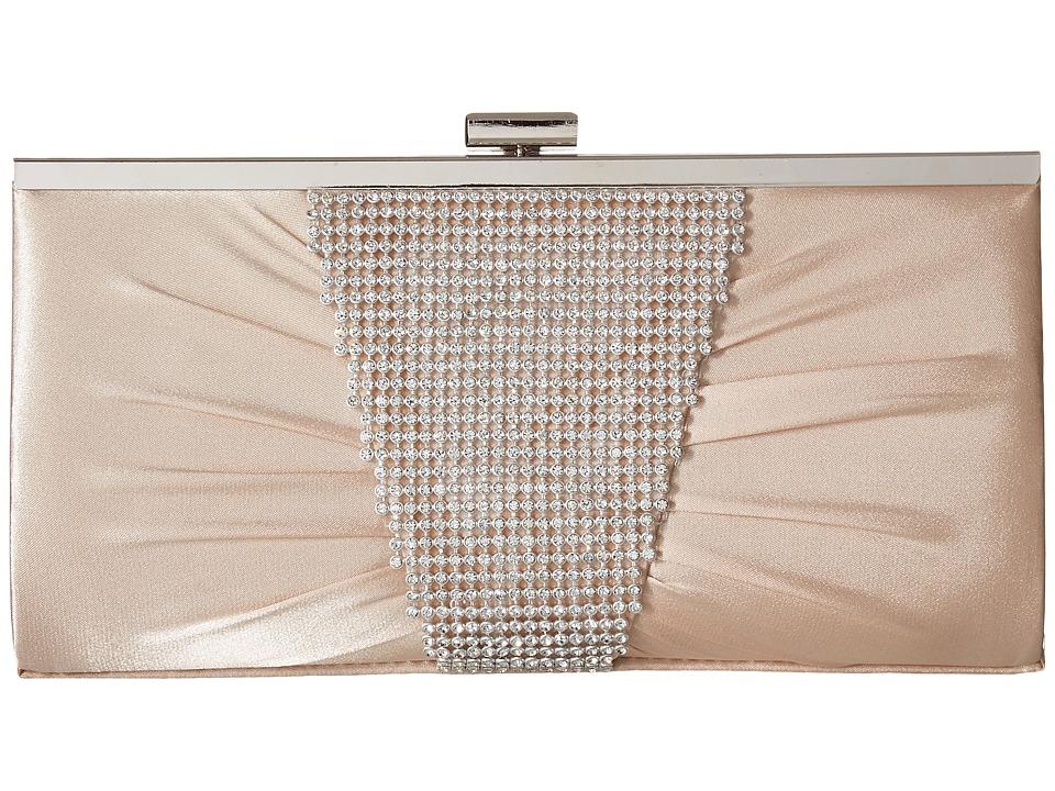 Jessica McClintock - Laura Clutch (Champagne 1) Clutch Handbags