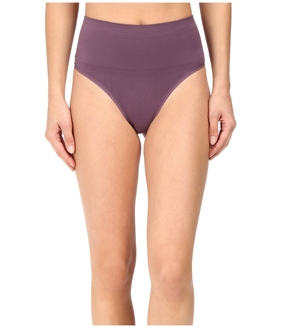 Yummie by Heather Thomson - Jasmina Shaping Thong (Vintage Violet) Women's Underwear
