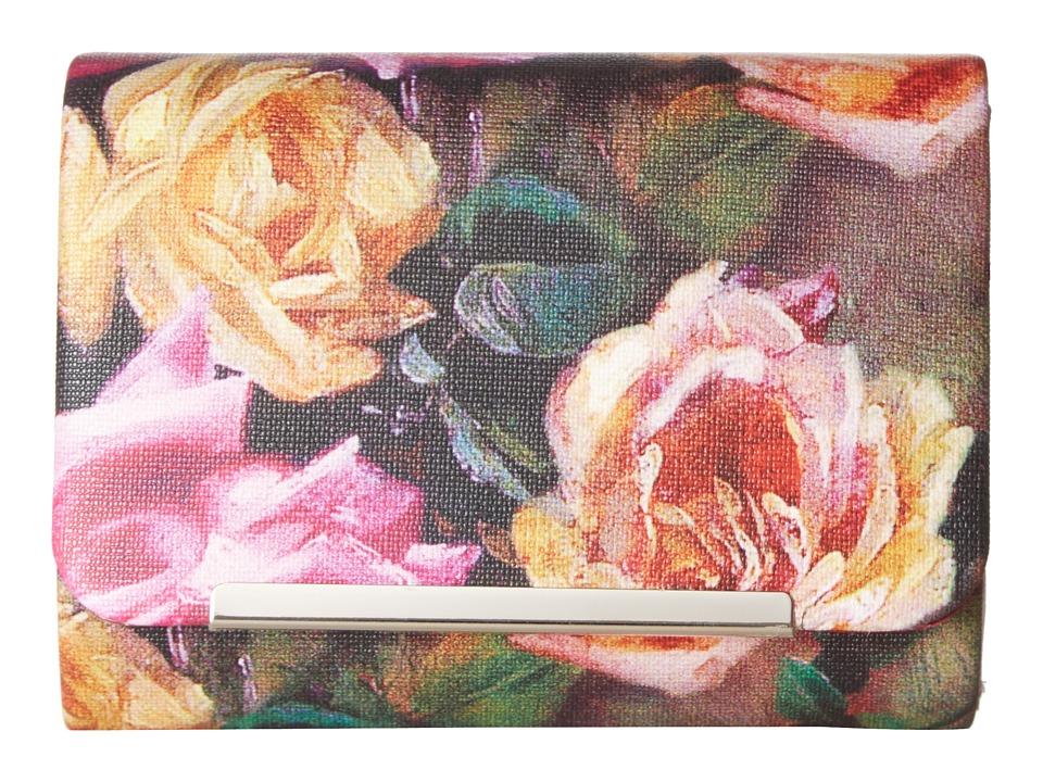 Jessica McClintock - Katie Floral Mini Clutch (Floral) Clutch Handbags