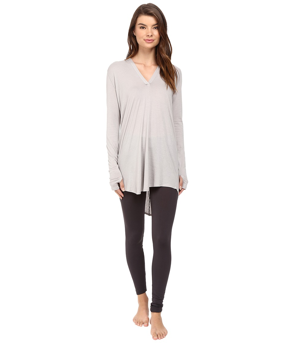Yummie by Heather Thomson - Hooded Cover-Up (Opal Grey) Women's Clothing