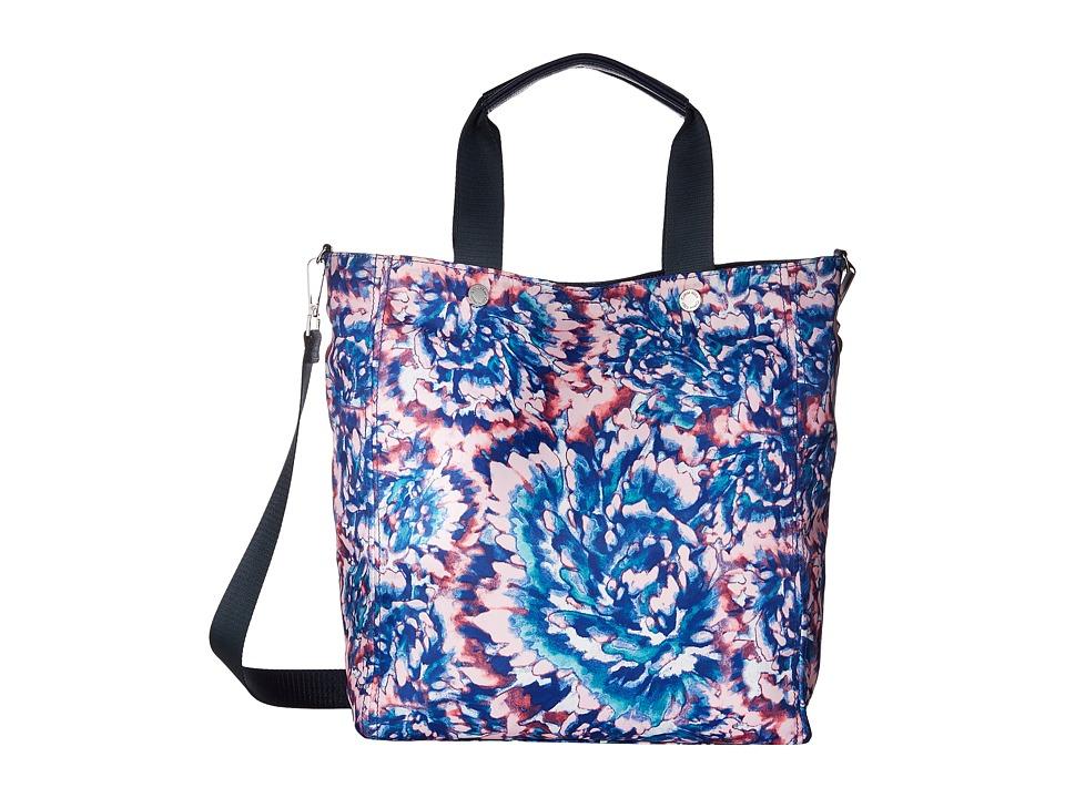 Calvin Klein - CKP Nylon Tote (Wild Blossom/Navy) Tote Handbags