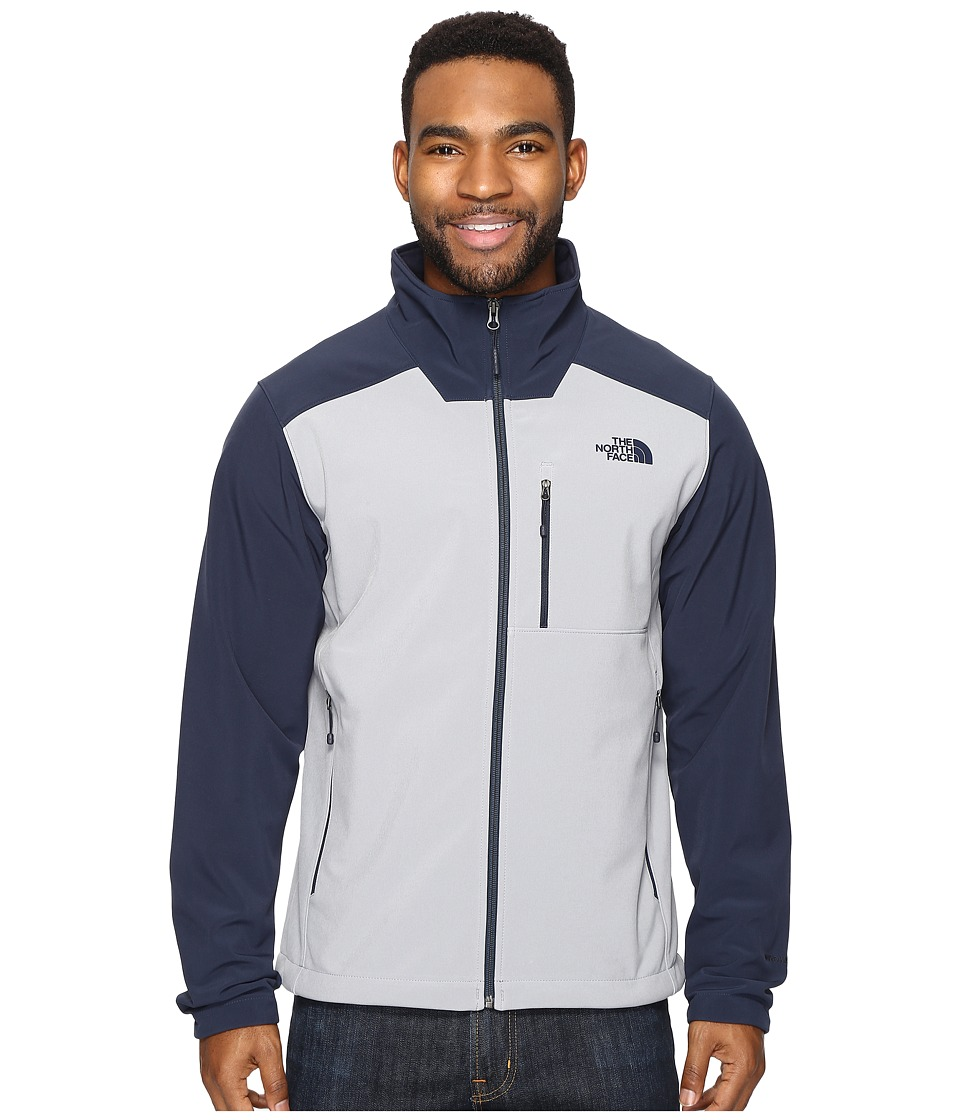 The North Face - Apex Bionic 2 Jacket (Mid Grey/Urban Navy (Prior Season)) Men's Coat