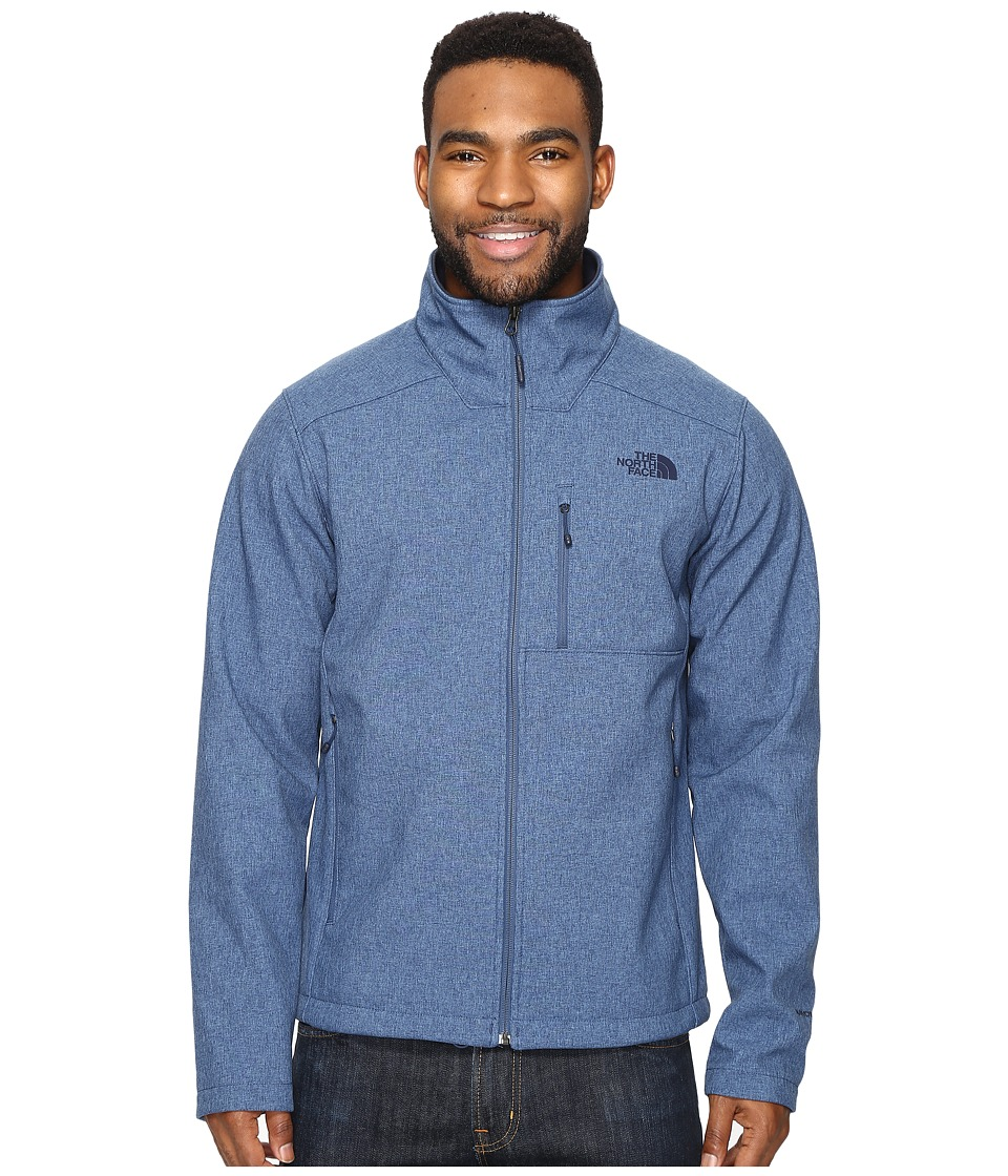 The North Face - Apex Bionic 2 Jacket (Shady Blue Heather/Shady Blue Heather (Prior Season)) Men's Coat