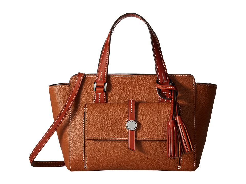 Dooney & Bourke - Cambridge Small Shopper (Desert/Tan Trim) Handbags