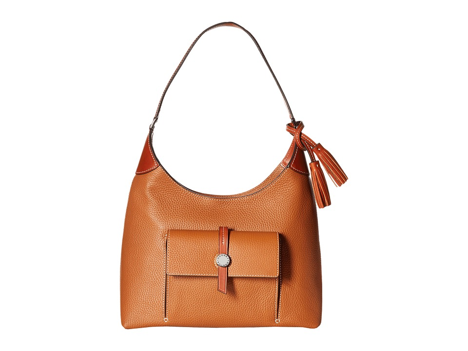Dooney & Bourke - Cambridge Hobo (Desert/Tan Trim) Hobo Handbags
