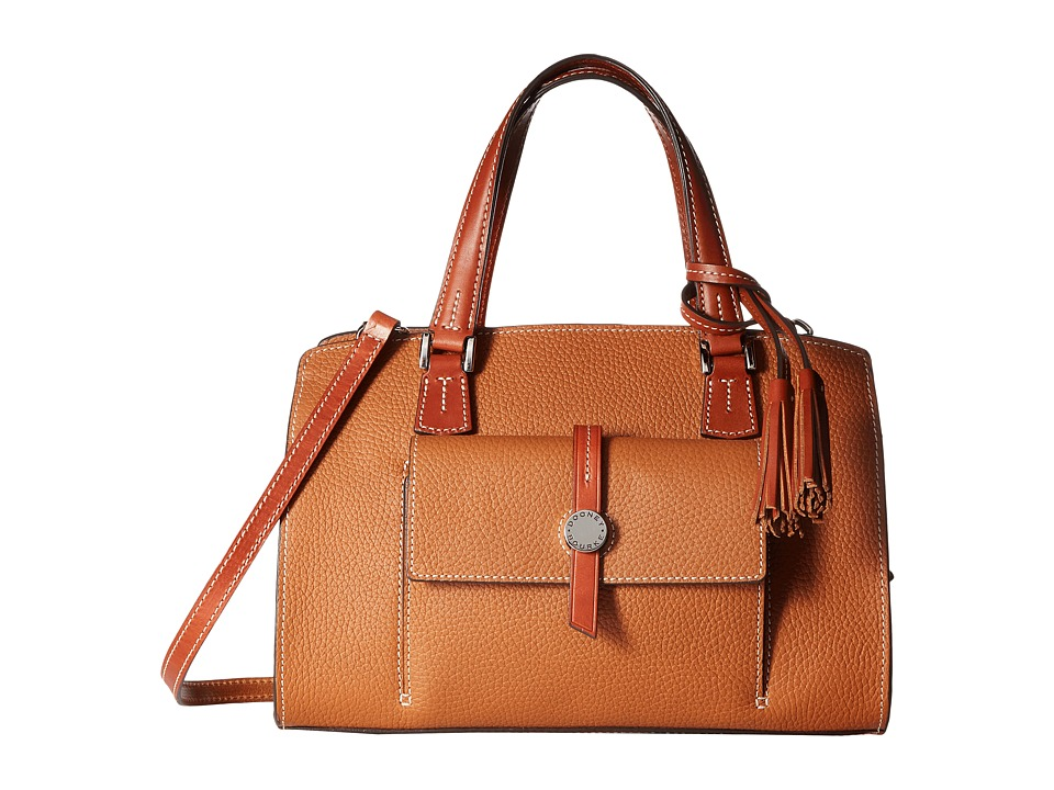 Dooney & Bourke - Cambridge Satchel (Desert/Tan Trim) Satchel Handbags