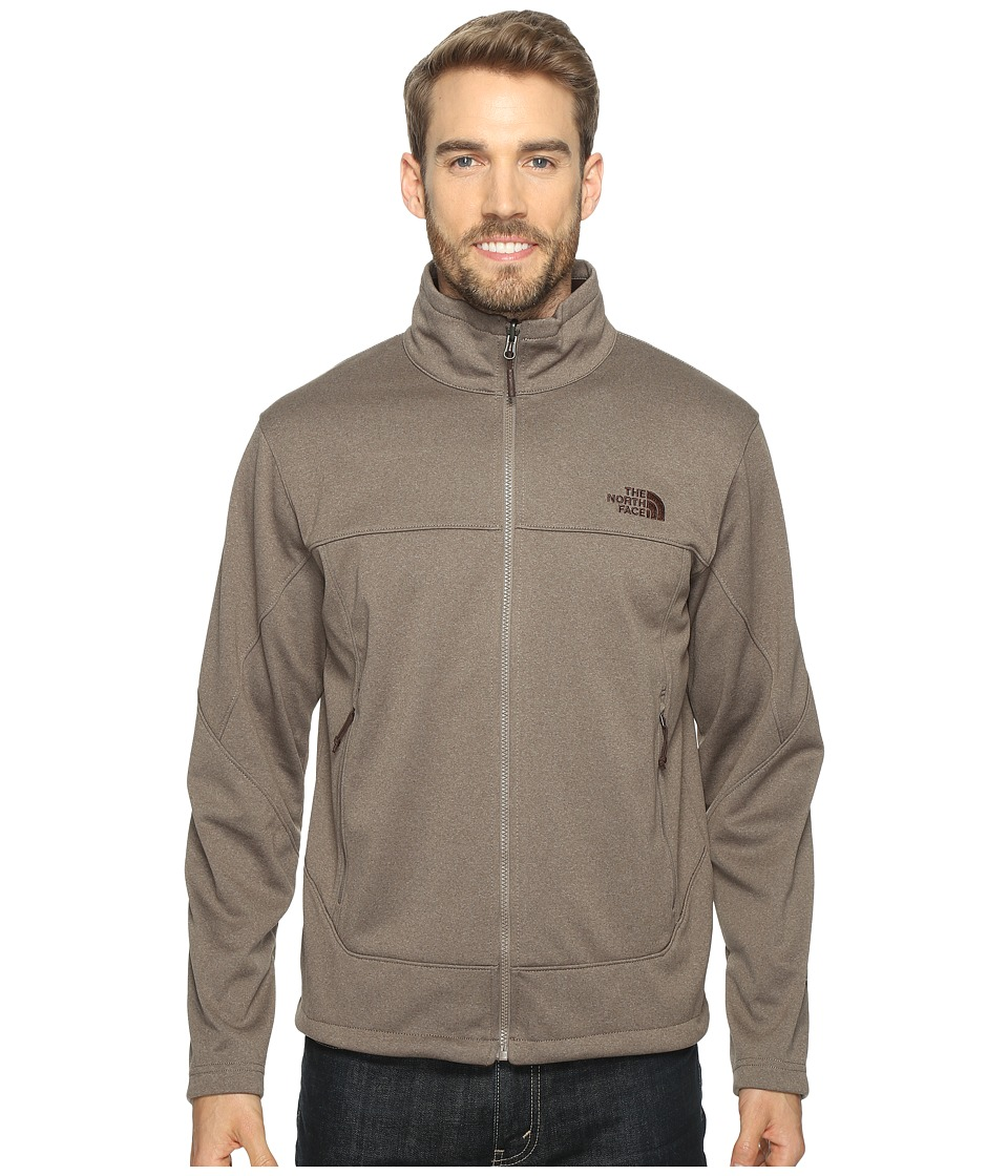 The North Face - Canyonwall Jacket (Falcon Brown Heather/Falcon Brown Heather (Prior Season)) Men's Coat