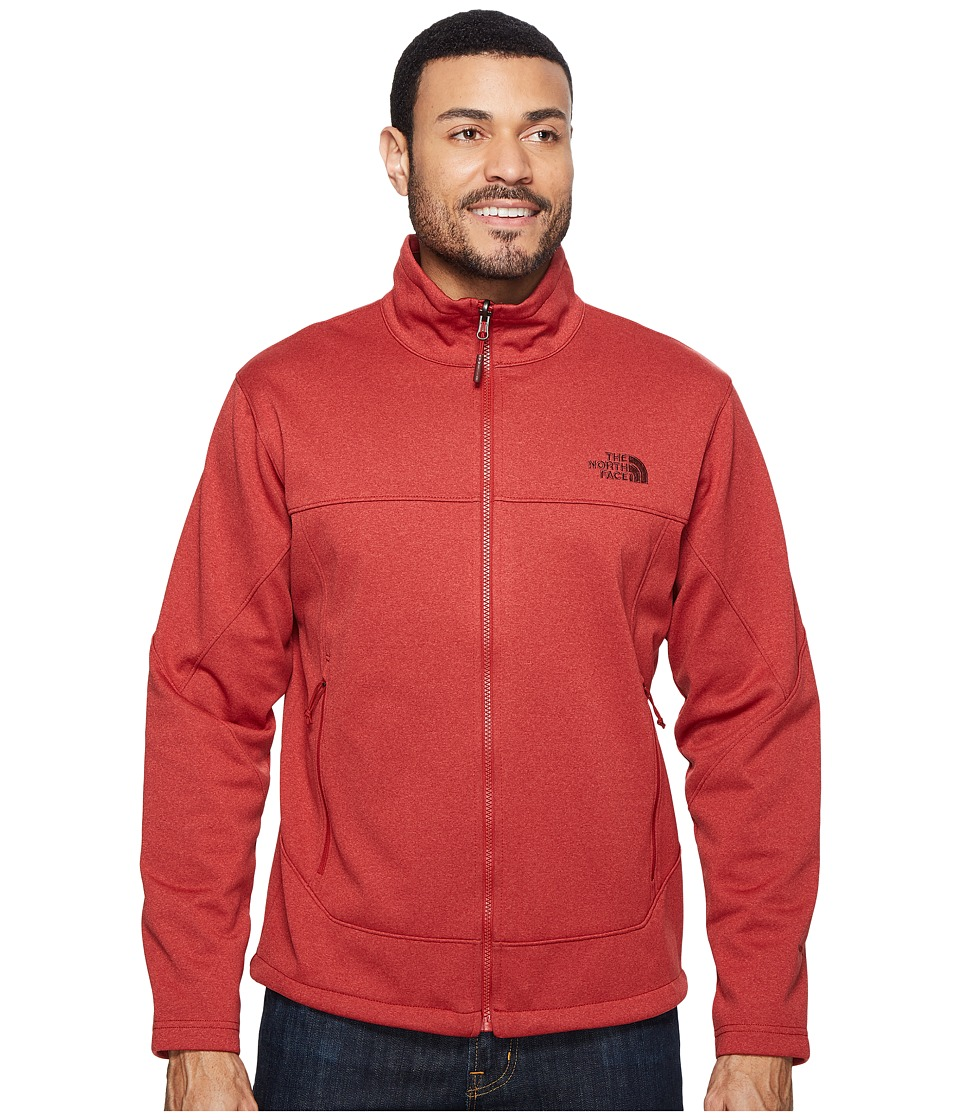 The North Face - Canyonwall Jacket (Cardinal Red Heather/Cardinal Red Heather (Prior Season)) Men's Coat