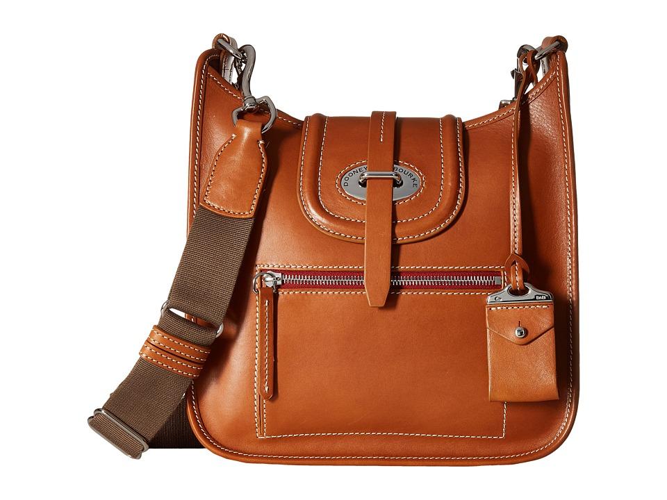 Dooney & Bourke - Florentine Small Front Zip Crossbody (Natural/Self Trim) Cross Body Handbags