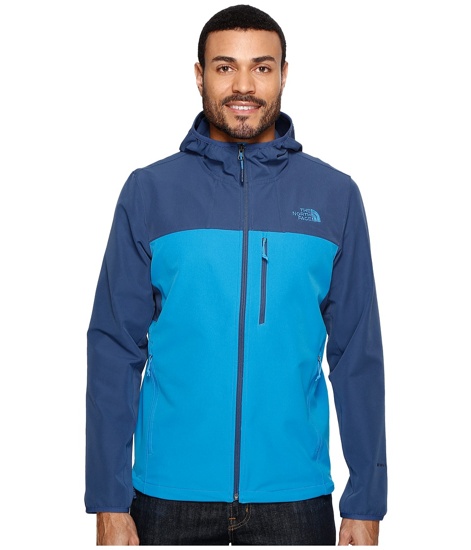 The North Face - Apex Nimble Hoodie (Hyper Blue/Shady Blue (Prior Season)) Men's Coat