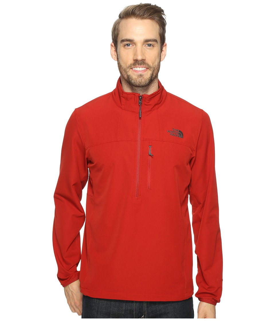 The North Face - Apex Nimble Pullover (Cardinal Red/Cardinal Red (Prior Season)) Men's Clothing