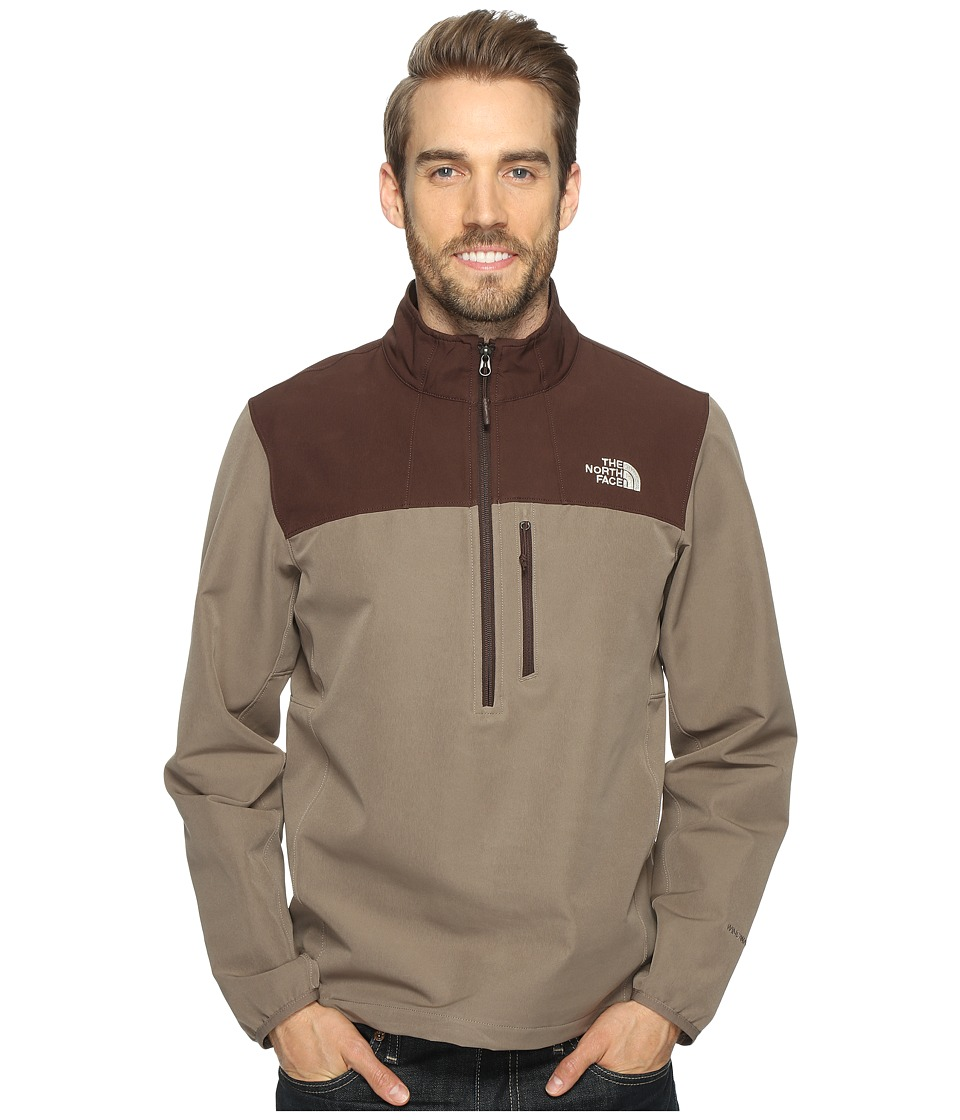 The North Face - Apex Nimble Pullover (Falcon Brown/Coffee Bean Brown (Prior Season)) Men's Clothing