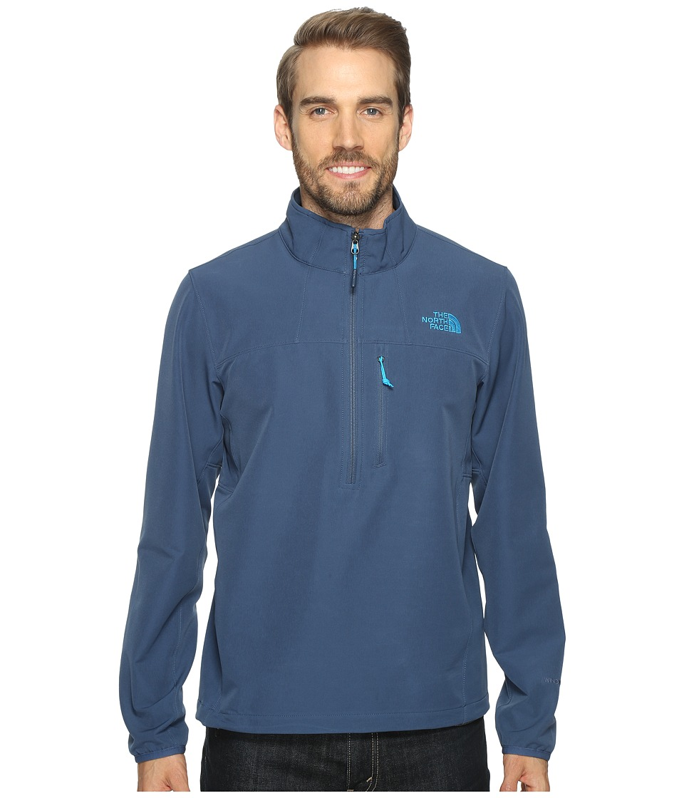 The North Face - Apex Nimble Pullover (Shady Blue/Shady Blue (Prior Season)) Men's Clothing
