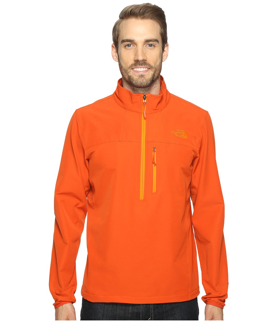 The North Face - Apex Nimble Pullover (Tibetan Orange/Tibetan Orange (Prior Season)) Men's Clothing