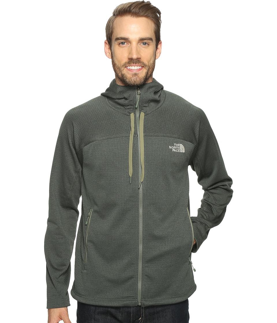 The North Face - Needit Hoodie (Thyme Heather/Thyme Heather (Prior Season)) Men's Sweatshirt