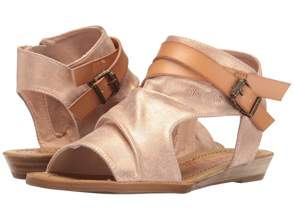 Blowfish Kids - Balla-K (Little Kids/Big Kids) (Rose Gold Meteorite Metallic/Nude Dyecut) Girl's Shoes
