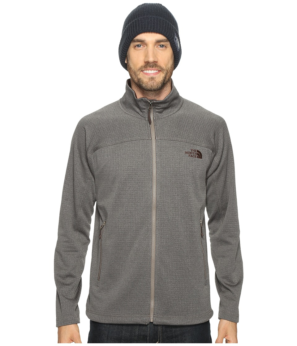 The North Face - Needit Full Zip (Falcon Brown Heather/Falcon Brown Heather (Prior Season)) Men's Coat