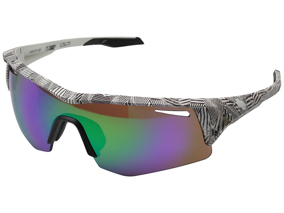 Spy Optic - Screw (Infinite White/Happy Bronze w/ Green Spectra + Happy Rose + Clea) Fashion Sunglasses
