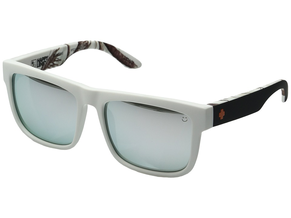 Spy Optic - Discord (Soft Matte Decoy Realtree/Happy Gray Green Polar w/ White Mirror) Sport Sunglasses