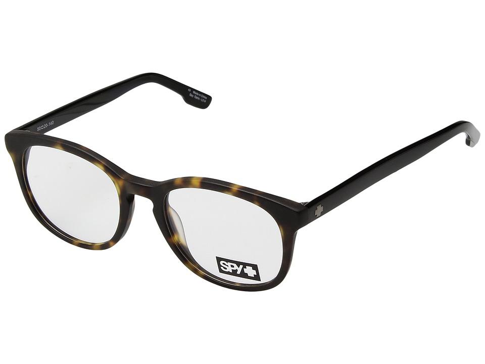 Spy Optic - Edith (Matte Dark Tort/Black) Fashion Sunglasses