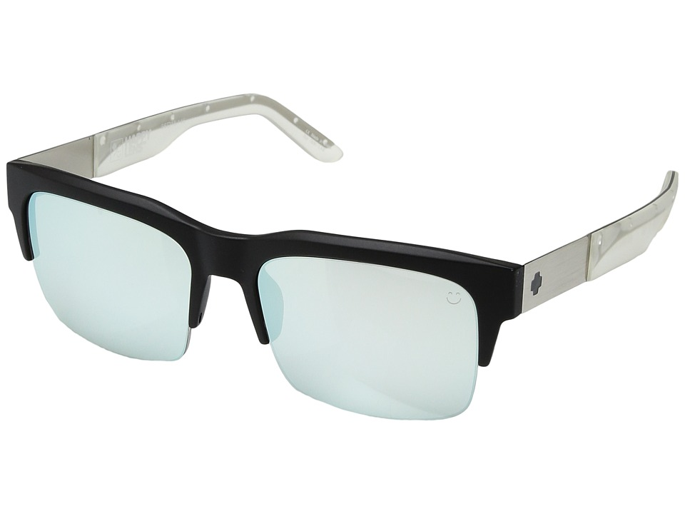 Spy Optic - Malcolm (Spy + Apex 2015 Galaxy Chrome/ Happy Gray Green w/ Silver Mirror) Fashion Sunglasses