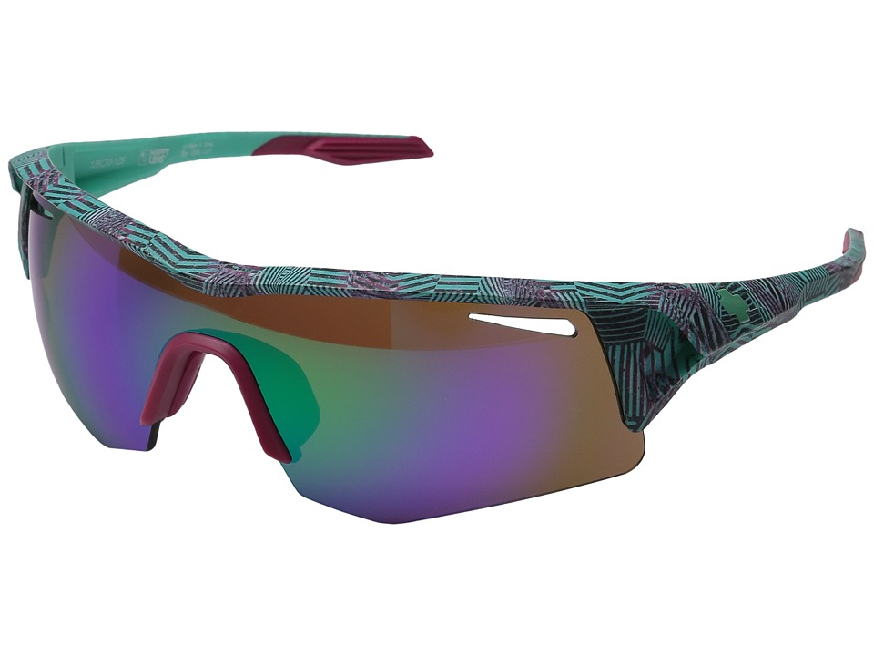 Spy Optic - Screw (Infinite Teal/Happy Bronze w/ Green Spectra + Happy Rose + Clear) Fashion Sunglasses