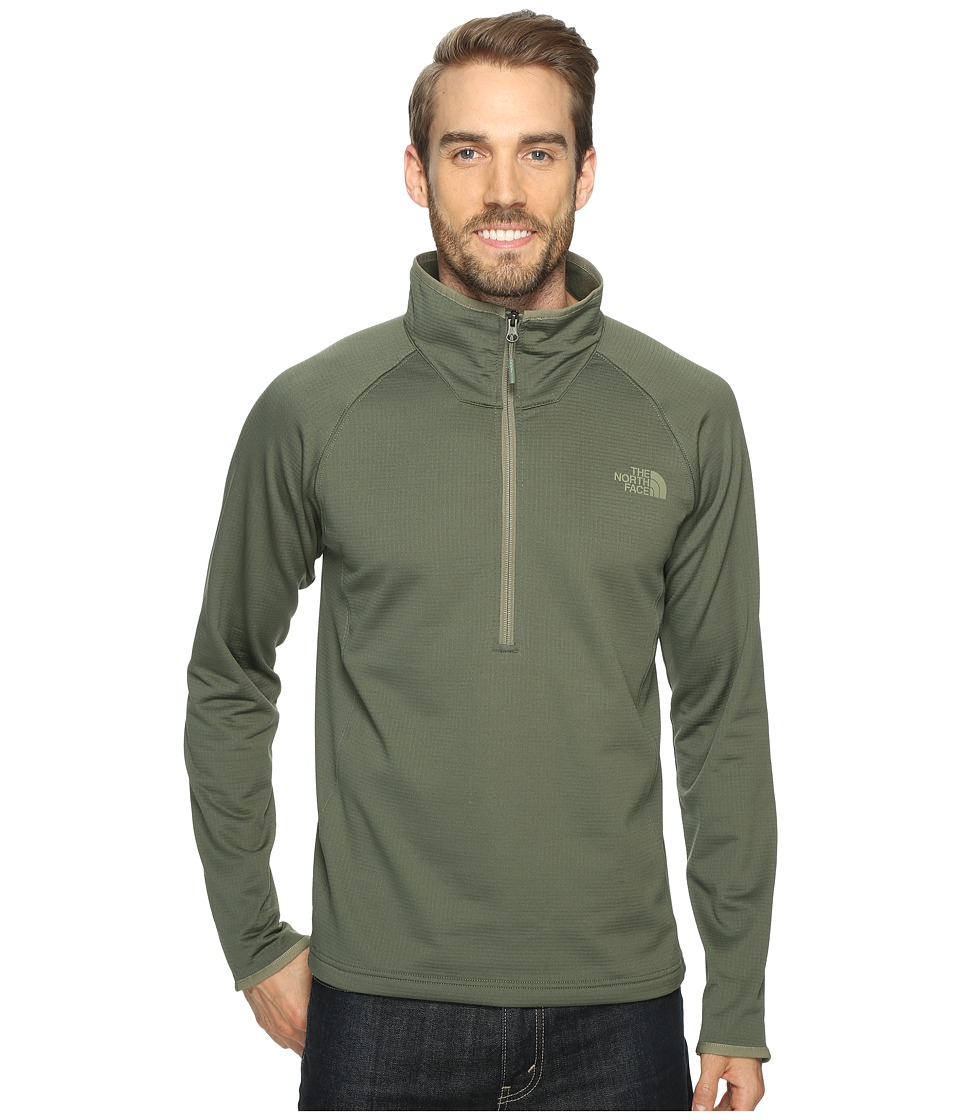 The North Face - Borod 1/4 Zip (Thyme (Prior Season)) Men's Clothing