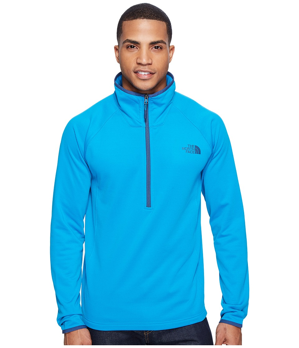 The North Face - Borod 1/4 Zip (Hyper Blue (Prior Season)) Men's Clothing