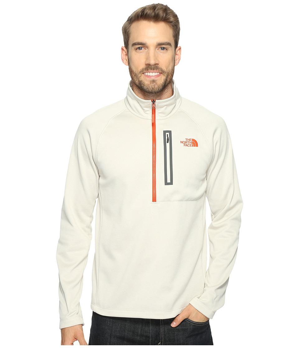 The North Face - Canyonlands 1/2 Zip (Rainy Day Ivory Heather (Prior Season)) Men's Long Sleeve Pullover