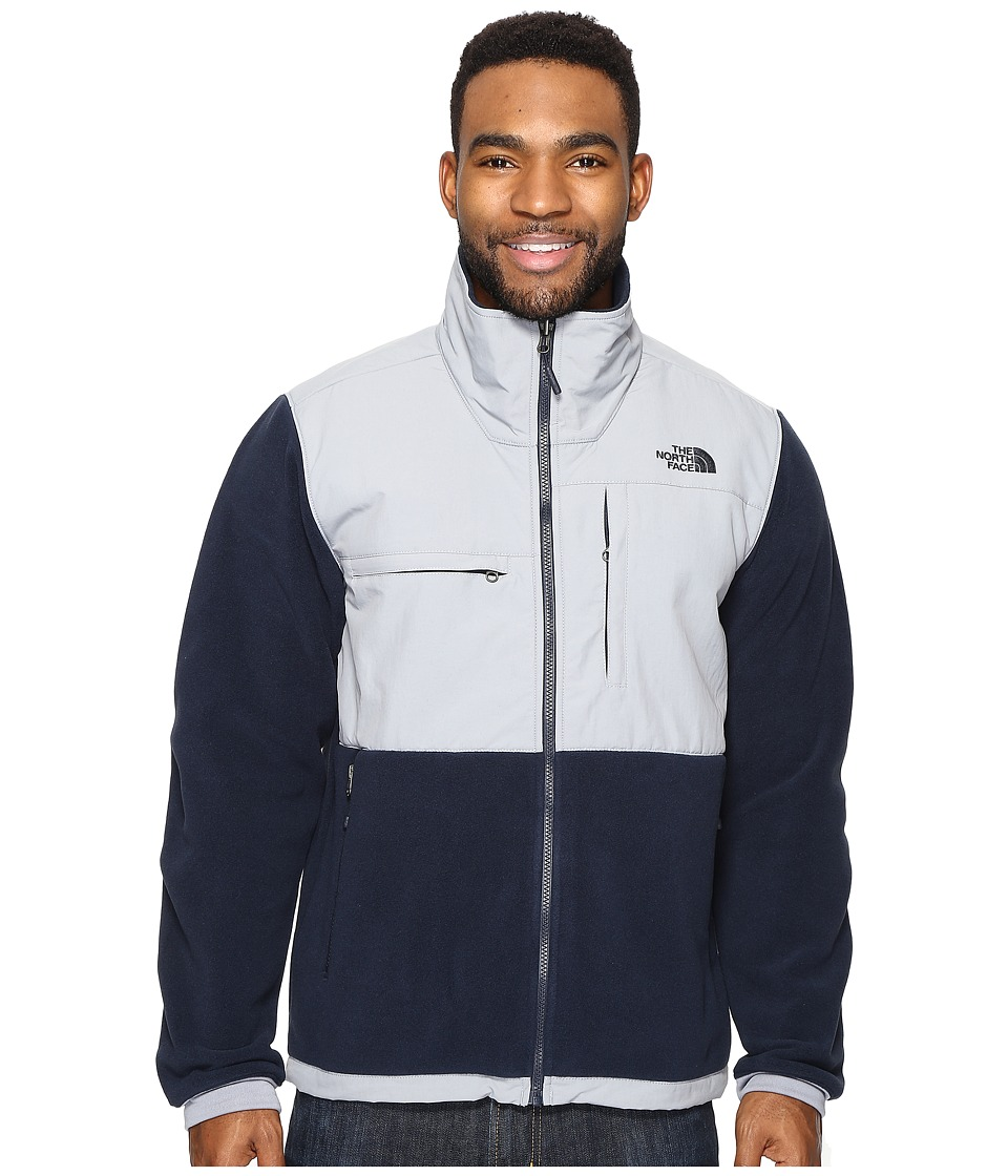 The North Face - Denali 2 Jacket (Recycled Urban Navy/Mid Grey (Prior Season)) Men's Coat