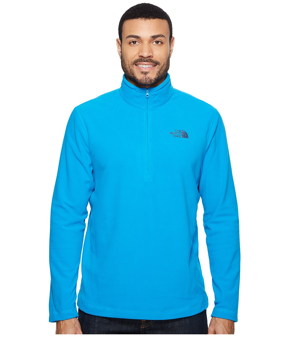 The North Face - TKA 100 Glacier 1/4 Zip (Hyper Blue (Prior Season)) Men's Sweatshirt